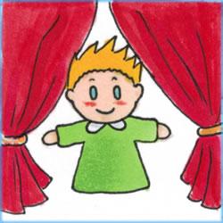 Teatrino marionette